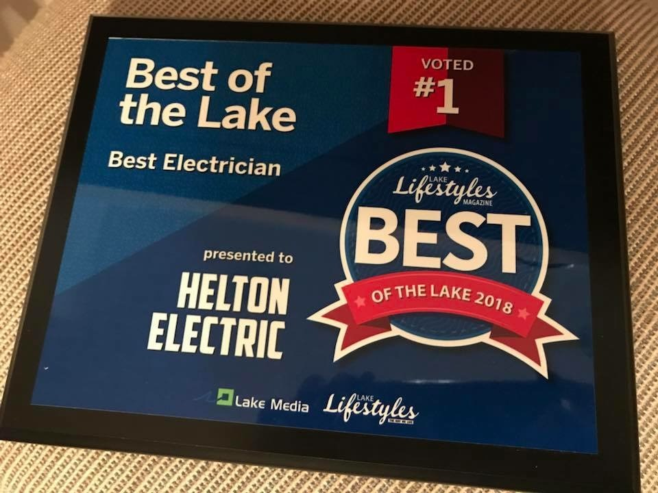 Lakes Best Electrician for 2018